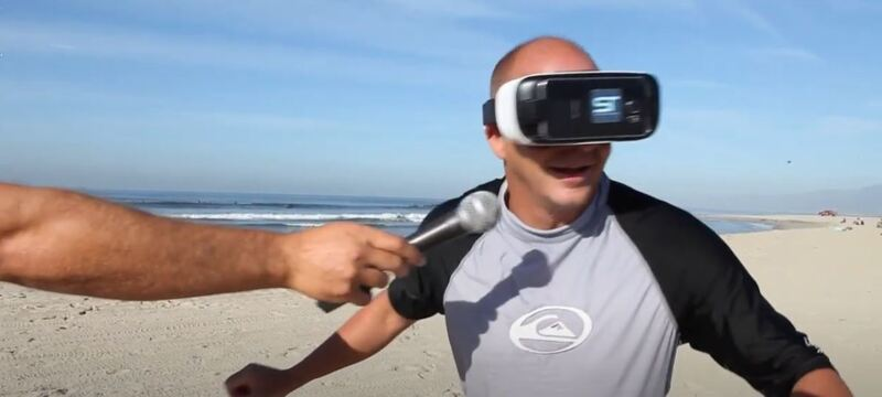 surfing in virtual reality