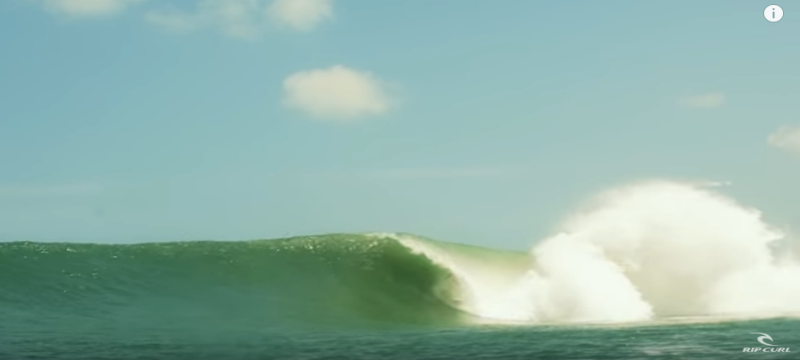 Mick Fanning The Snake RipCurl The Search Perfect Barrels