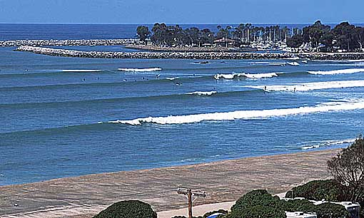 Doheny State Beach Surf Spot