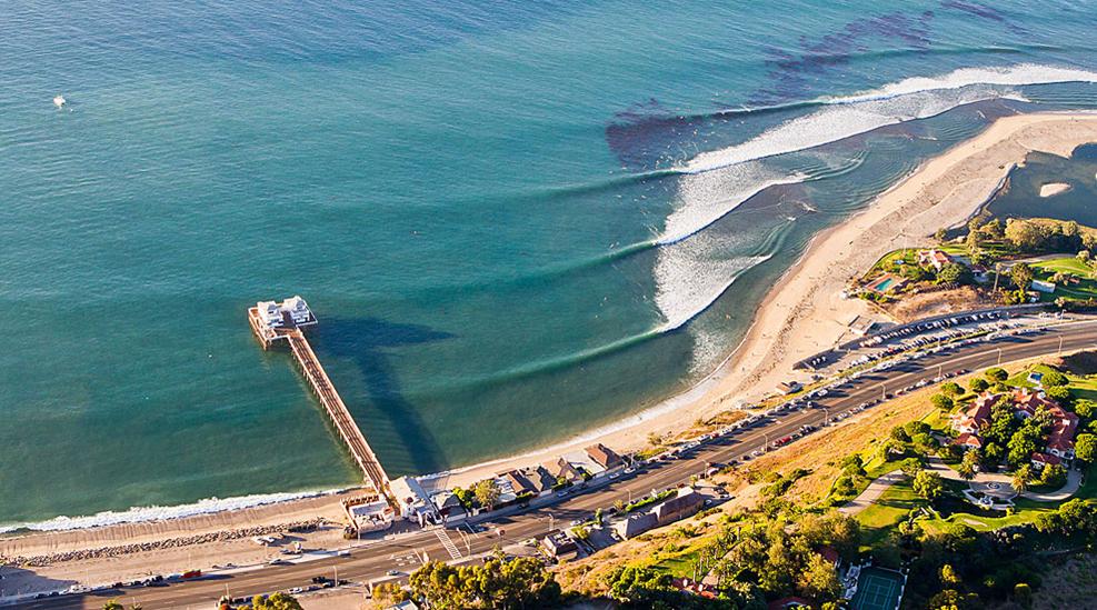 Malibu First Point Surf Spot
