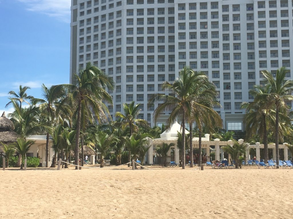 Riu All inclusive resort at Playa Brujas surf spot