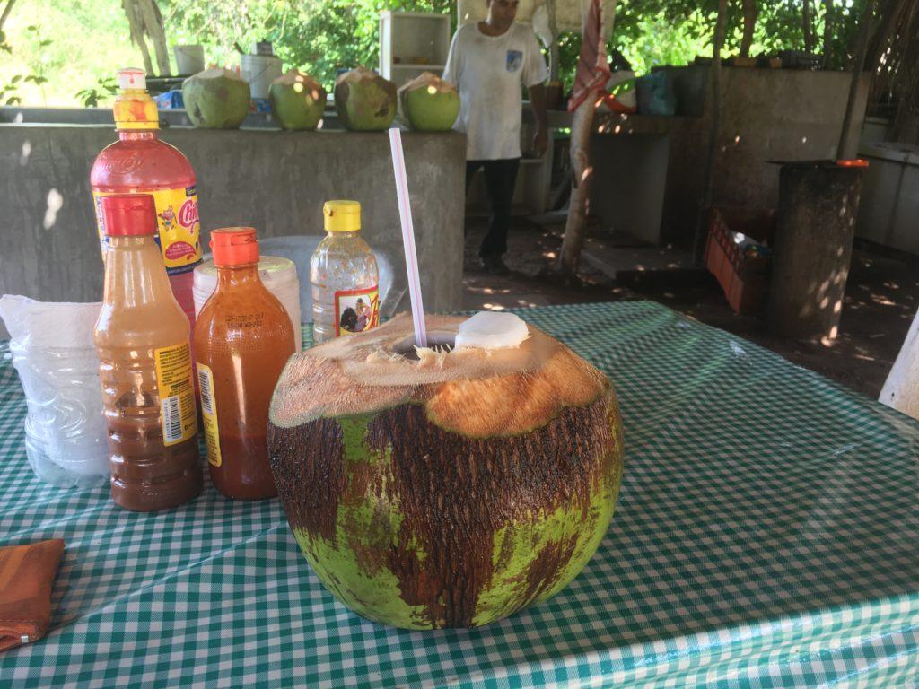 Mexican coconut coconut water