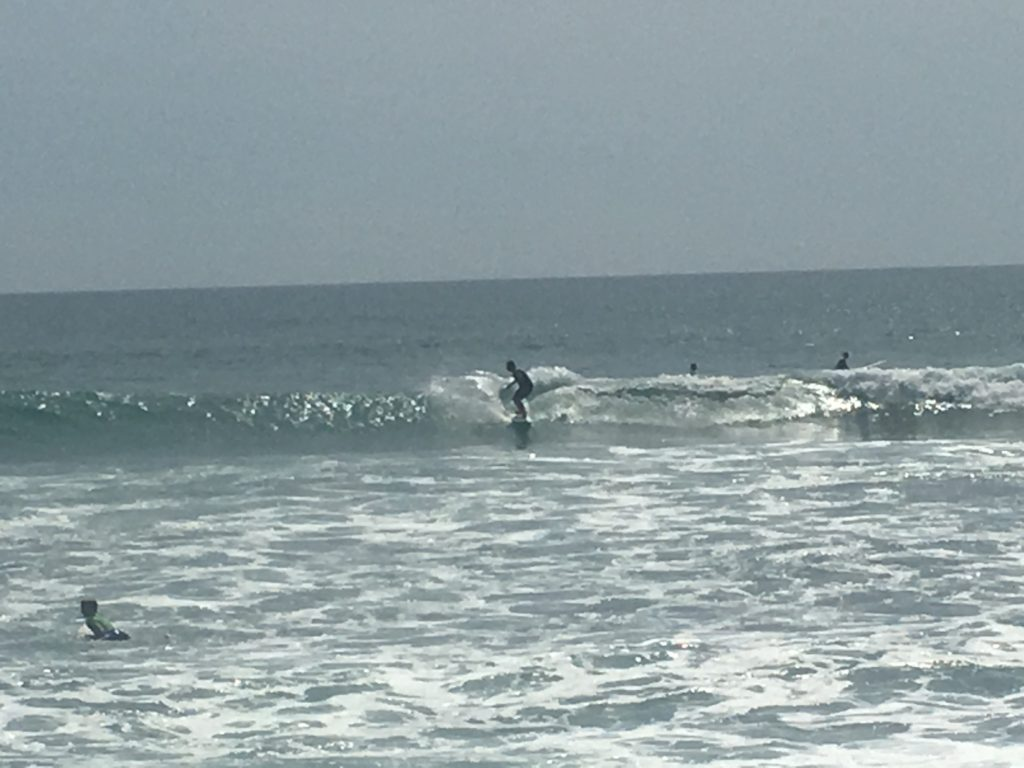 Surfing at Cabo Surf Hotel
