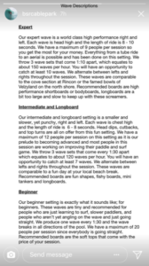 Barefoot Surf Resort Wave Descriptions and Skill Levels Required