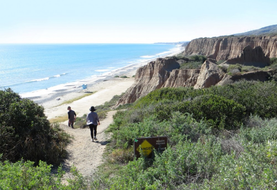 San Onofre Trails Surf Spot