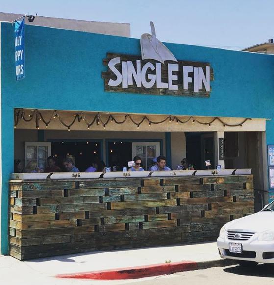 Single Fin Restaurant/Bar San Diego