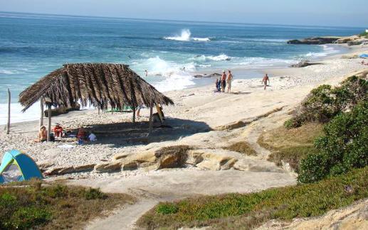Windansea surf spot La Jolla