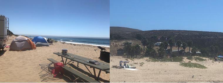 Jalama Beach Camping