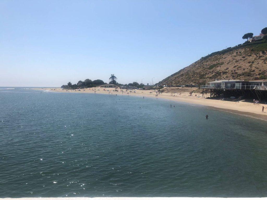 Malibu 1st Point Flat Day got skunked