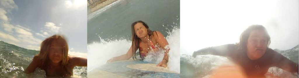 how to prevent water from going up your nose when surfing